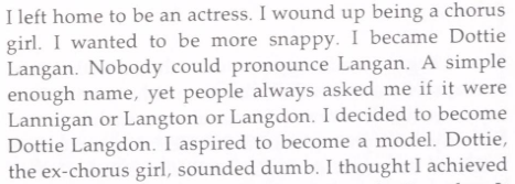 Dottie Langdon