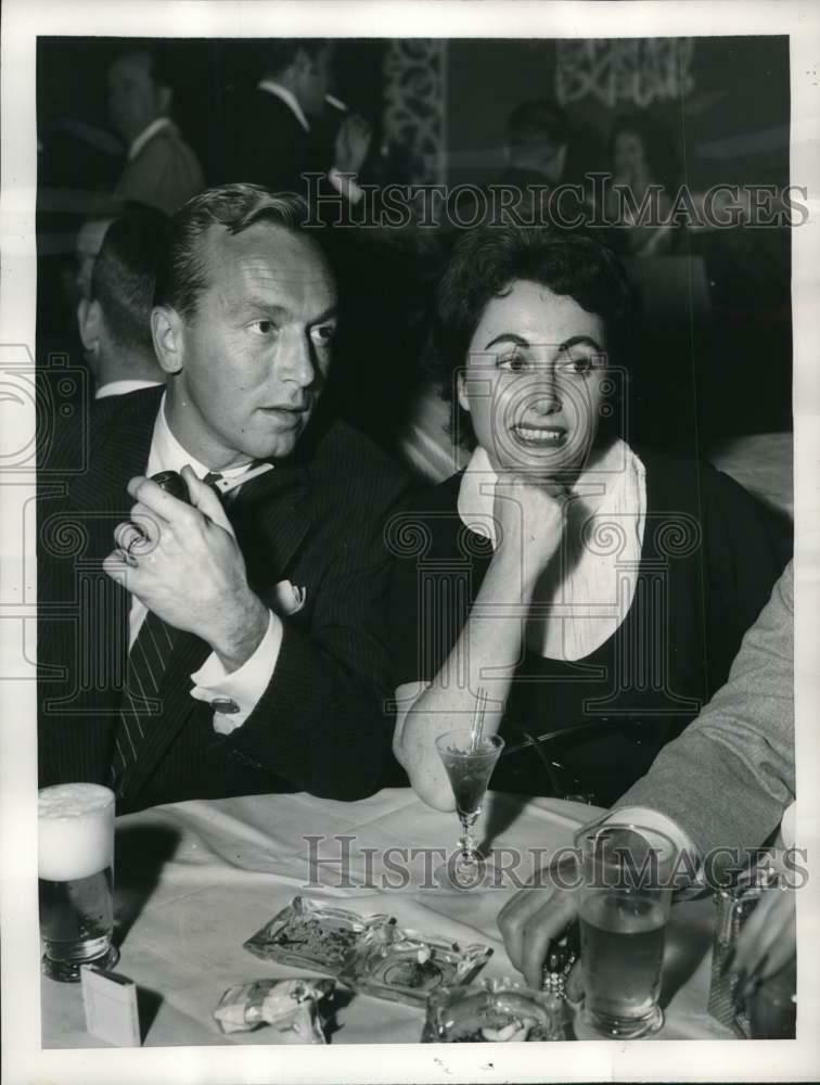 Johnnie Johnston with Shirley Carmel