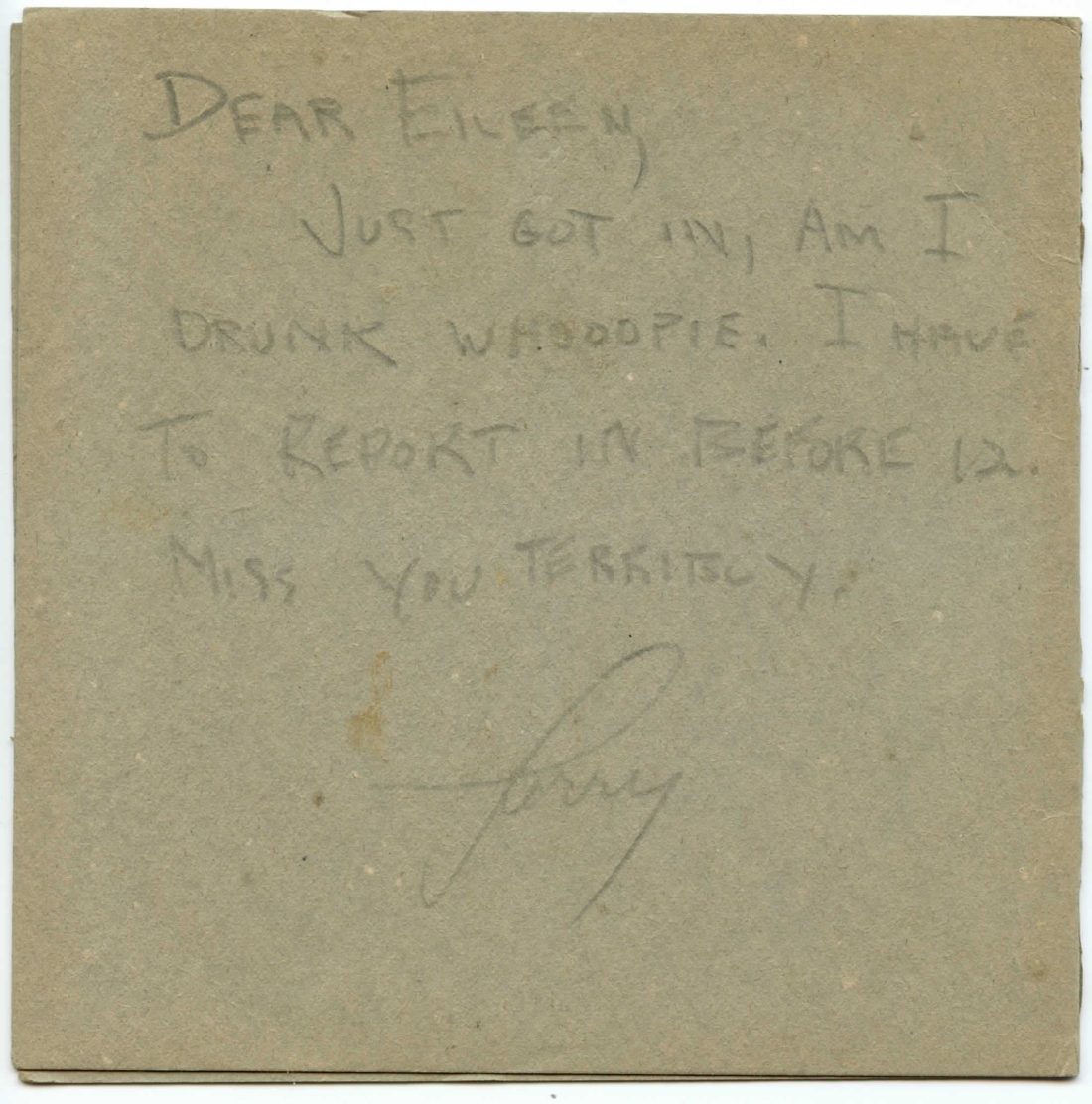 Larry Klein (Kaye) 1943 Letters and Recording to Eileen Barton-page-007