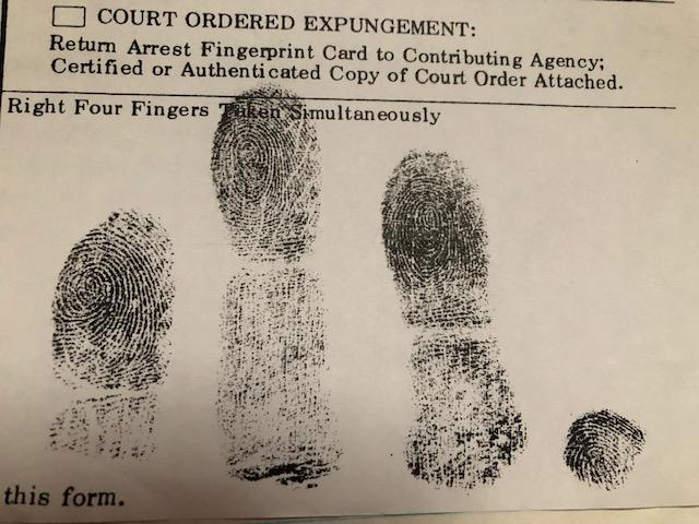 lawrence kane fingerprints zodiac