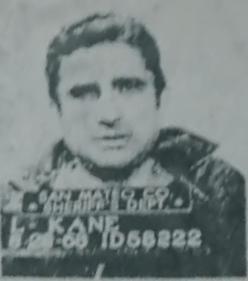 Lawrence Kane Zodiac Killer suspect mugshot 1968