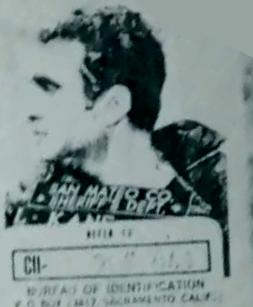 Lawrence Kane Zodiac Killer suspect mugshot profile view 3