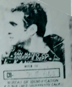 Lawrence Kane Zodiac Killer suspect mugshot profile view 3