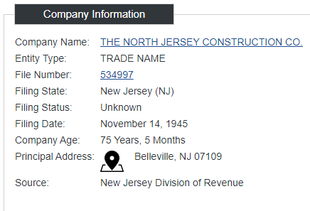 North Jersey Construction