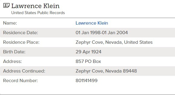 Person Details for Lawrence Klein United States Public Records 1970 2009 mdash FamilySearch_zpswjap5tif